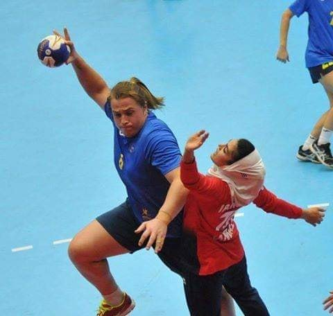 Hannah Mouncey in Asian Handball Championship