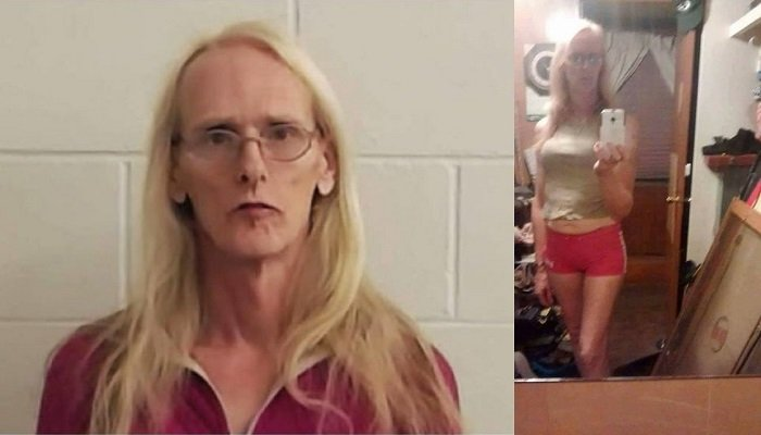 Named James before declaring himself a woman, Linda Heyroth is accused of repeatedly beating a woman over the head with a baseball bat and making up his mind to kill her when she did not agree with his political views during a discussion.