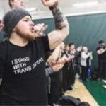 Transgender USA Powerlifting Protest